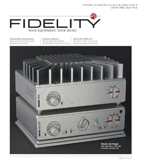 FIDELITY 6 Titelseite 1 von 2