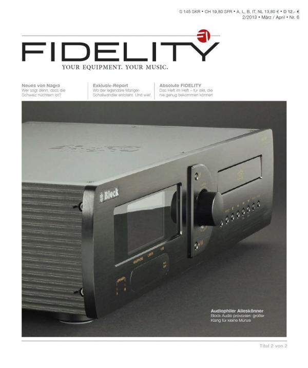 FIDELITY 6 Titelseite 2 von 2