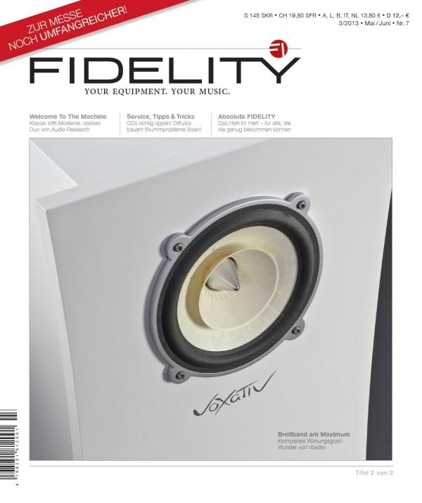 FIDELITY 7 Titelseite 2 von 2