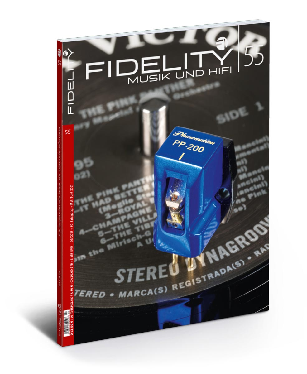 FIDELITY 55 Titel perspektivisch